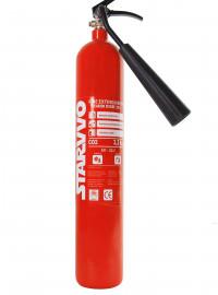 Alat Pemadam Api Ringan (APAR) Starvvo Kelas BC Carbon Dioxide (CO2) 2,3 Kg