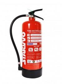 Alat Pemadam Api Ringan (APAR) Starvvo Kelas ABC Dry Chemical Powder 12 Kg